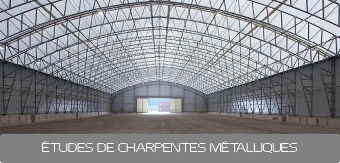 Bureau d 39 tude charpente m tallique ab engineering paris for Type de charpente metallique