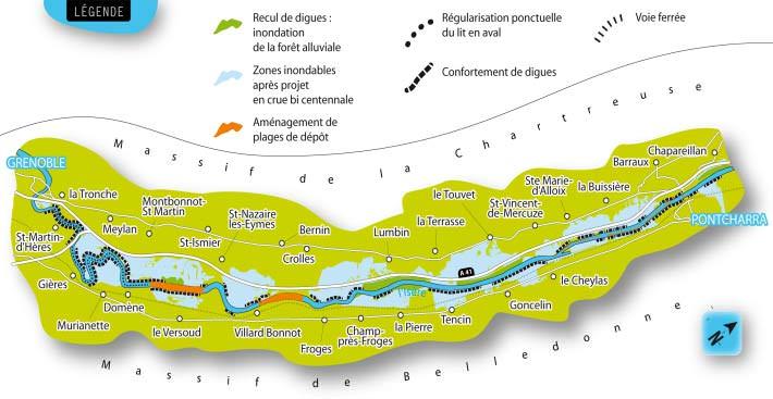plan anti-inondation Grenoble