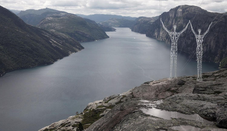 Et si les pylônes électriques devenaient de véritables œuvres d'art ?