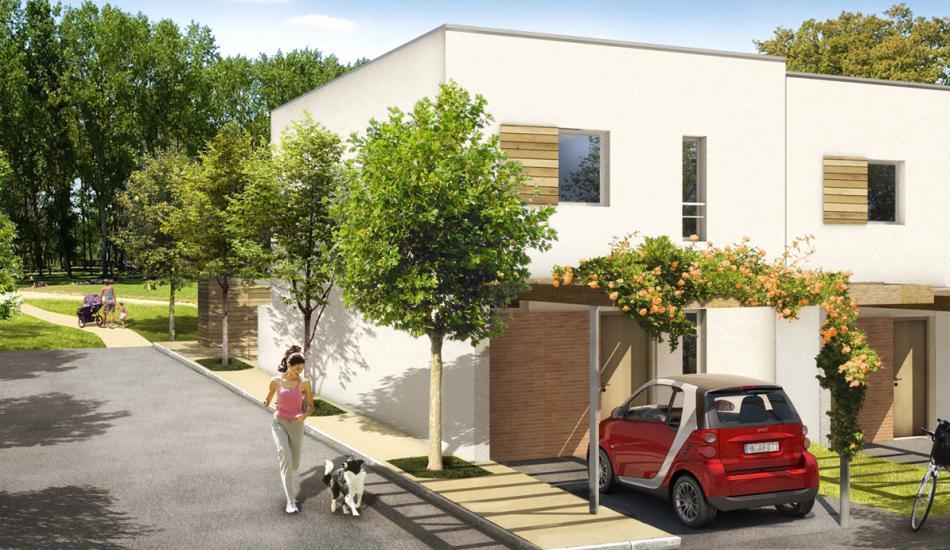 Résidence du Parc Champeau - 126 logements collectifs (4)