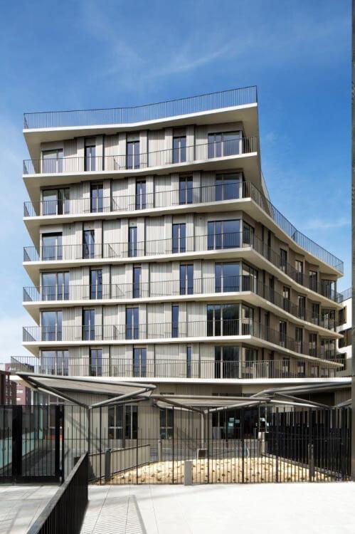 71 logements ZAC Massena - PARIS 13e