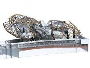 construction fondation louis vuitton 3 BIM