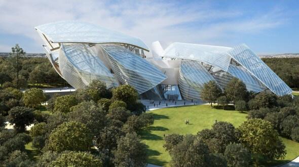 Construction de la Fondation Louis Vuitton : le défi