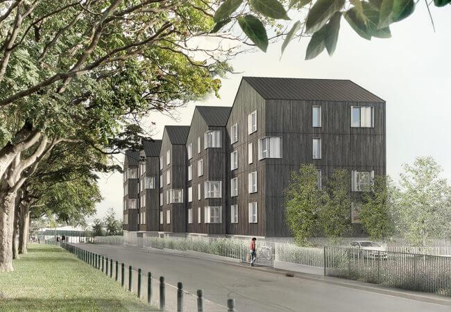 Résidence sociale Les Doucettes - 108 logements