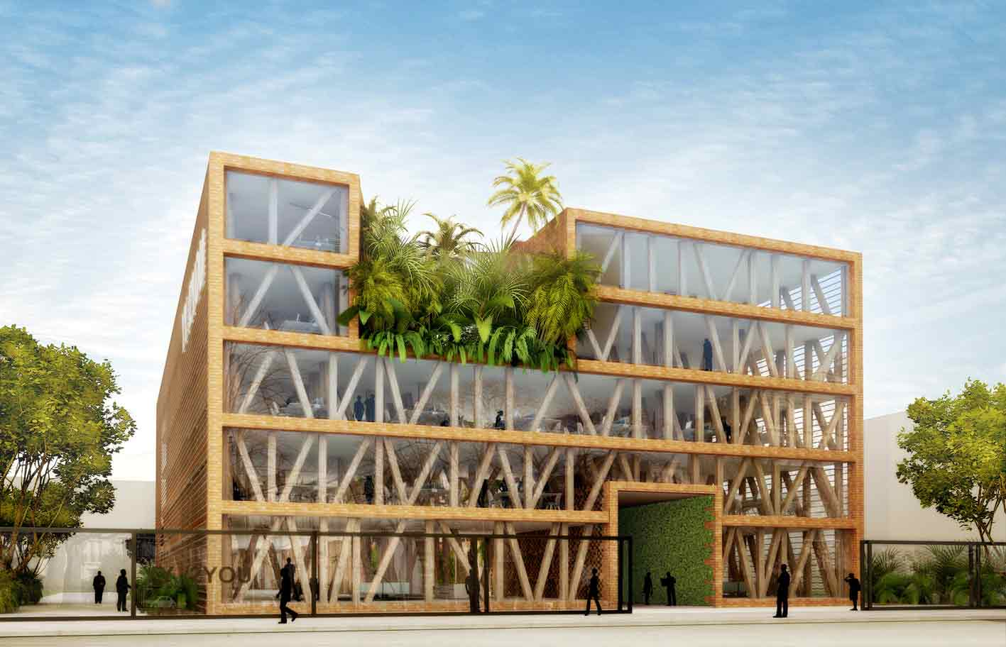 L 39 immeuble en bois en voie de d mocratisation en france for Immeuble bureaux structure bois