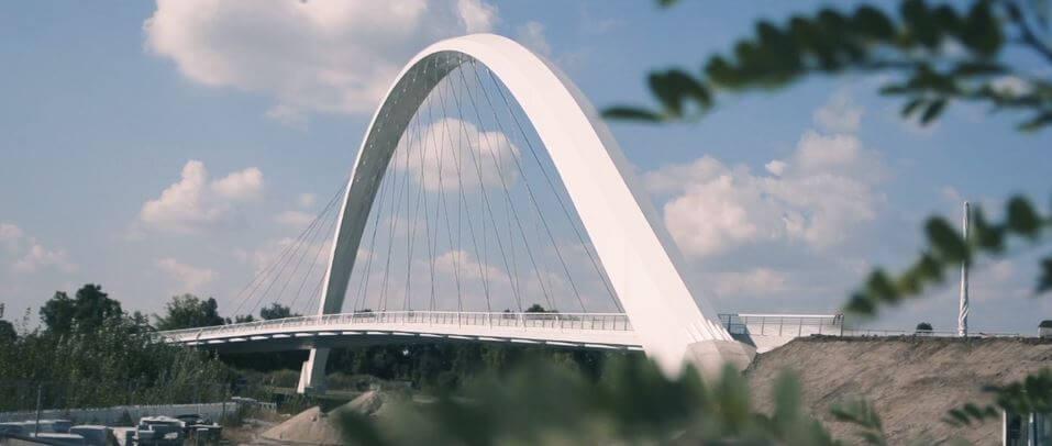Le pont Citadelle à Strasbourg, élégant et si sophistiqué