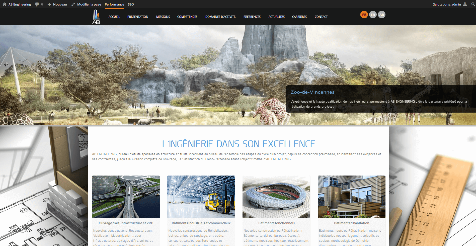 AB ENGINEERING lance son nouveau site internet