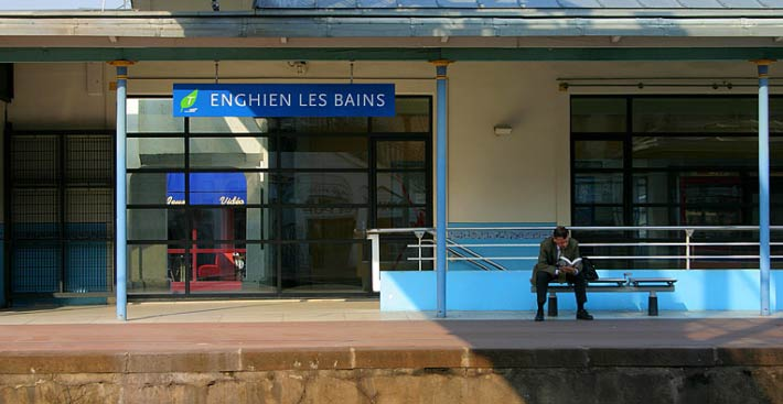 Gare d'Enghien-les-Bains SNCF_