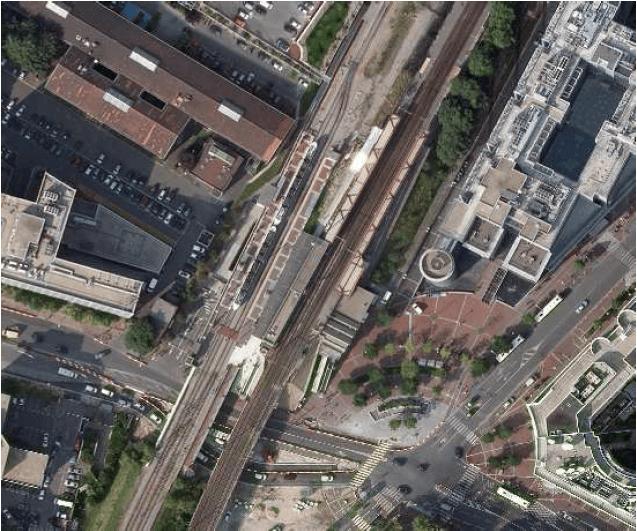 Heurtoir Dynamique gare d' Issy Val de Seine