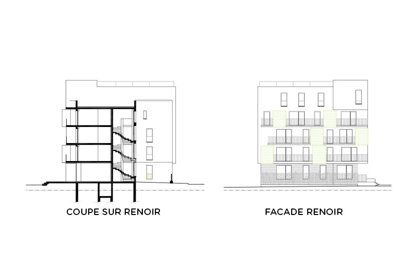 28 logements - Courneuve