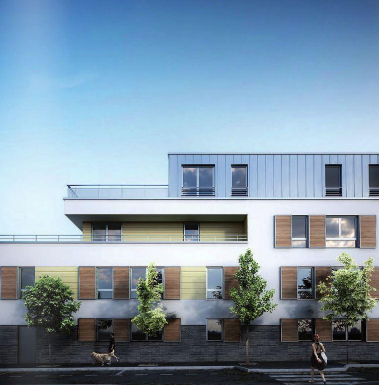 projet Levant - 33 logements collectif à Nanterre 2