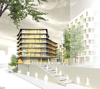 71 logements crèche et locaux commerciaux - ZAC MAssena - PARIS 13e (2)