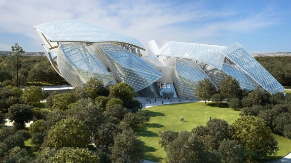 Construction de la Fondation Louis Vuitton : le défi