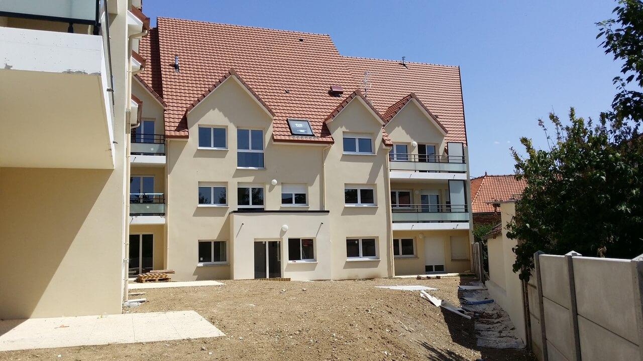 40 logements à Rivery