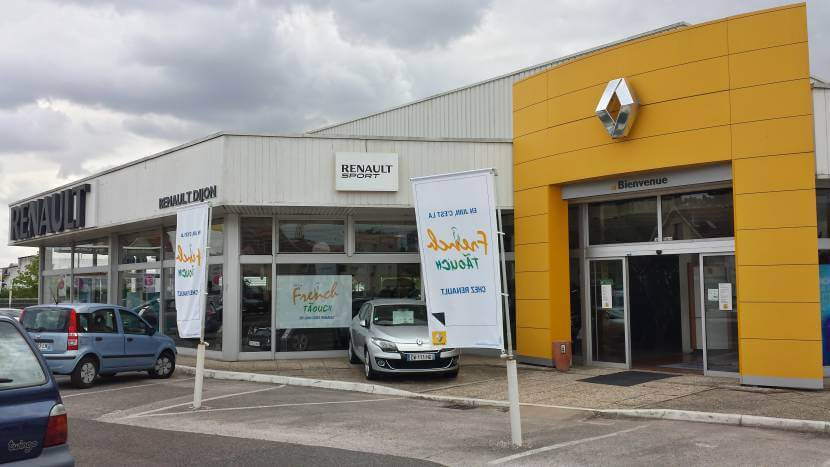 Concession Renault Dijon