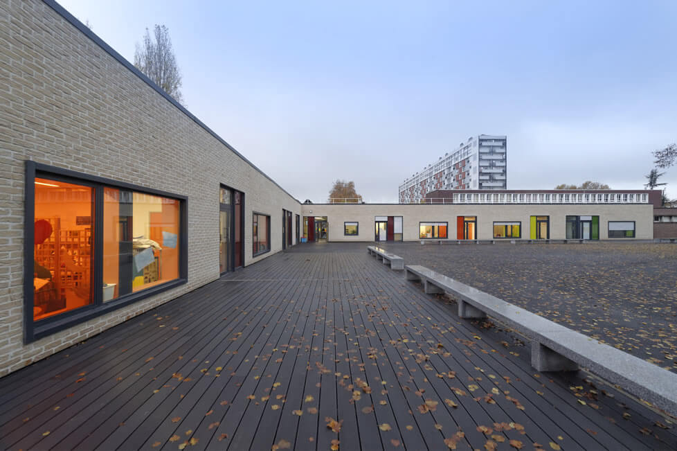 Réhabilitaion de l'école élémentaire Noue Caillet