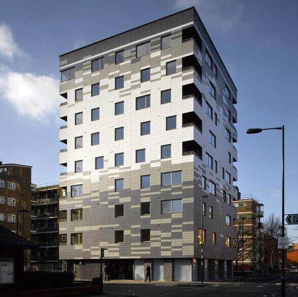 The Stadthaus, un immeuble en bois de 9 étages à Londres