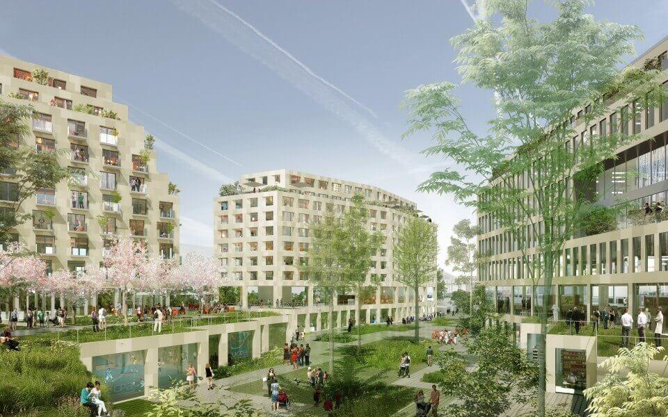 Réinventer Paris : un éco quartier exemplaire