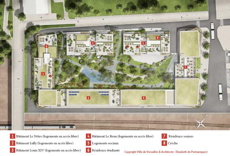 377 logements - Versailles 3